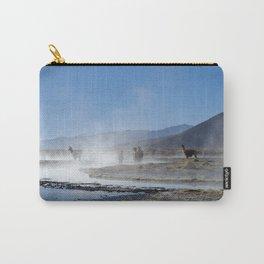 Lamas @ Salar de Uyuni Carry-All Pouch