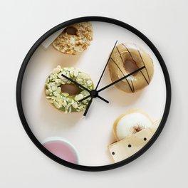 Diverse Donuts Bakery Shop Wall Clock