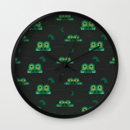 See you later alligator (Patterns Please) Wall Clock