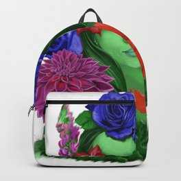 A Bouquet for Her Backpack