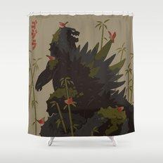 Gojira Shower Curtain