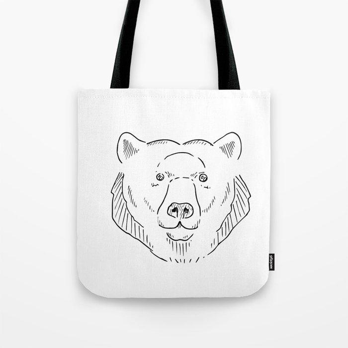 Bear Faced Tote Bag