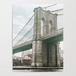 Brooklyn Bridge in New York, NY - Photography Poster