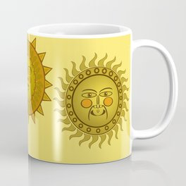 Three Suns Coffee Mug