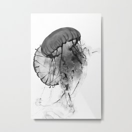Dancing Jellies Metal Print