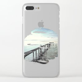 Ammersee in Bavaria - T-Shirt-Design Clear iPhone Case