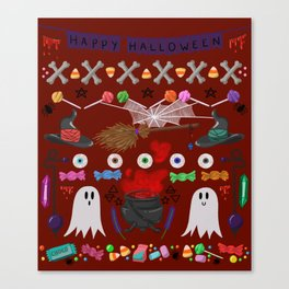 This is Halloween #3 Canvas Print