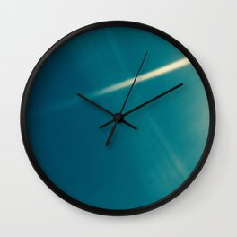 Light Photography Wall Clock