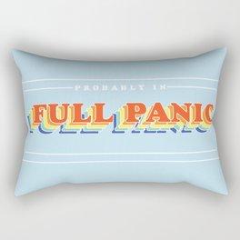 Full Panic - In Rainbow Rectangular Pillow