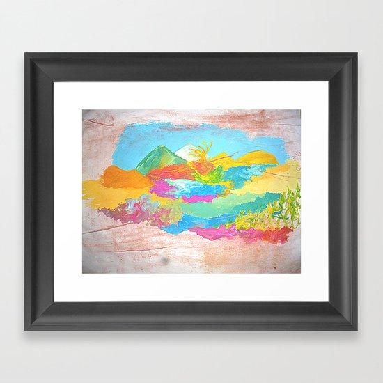 0loz5 Framed Art Print