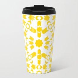 Golden Arabesque Travel Mug