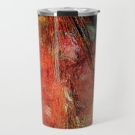 Sicilian Fisherman (This Artwork is a collaboration with the talented artist design  Ganech Joe) Travel Mug