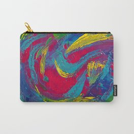 Tropical: Colorful and Fun Abstract Carry-All Pouch
