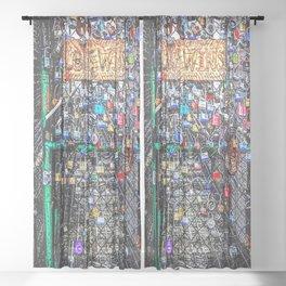 Love Wins NOLA Sheer Curtain