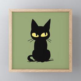 Watching Framed Mini Art Print