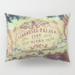 Carrousel Palace - Jardin Albert 1er Pillow Sham