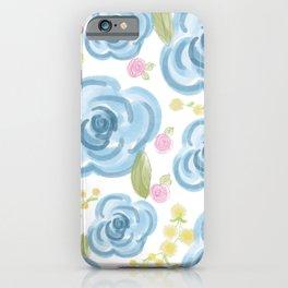 Blue Rose Irene iPhone Case