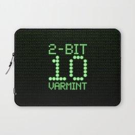 2-Bit Varmint / Binary vermin team code Laptop Sleeve