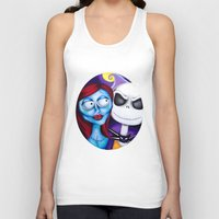 nightmare before christmas Tank Tops featuring Nightmare Before Christmas by Janelle Jex