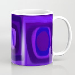 Violets in Blue Windows Coffee Mug