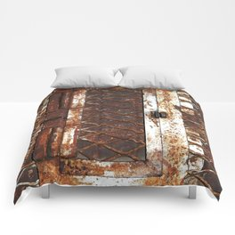 Rusted Door Comforters