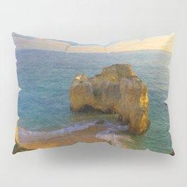 Praia da Rocha at dusk, Portugal Pillow Sham