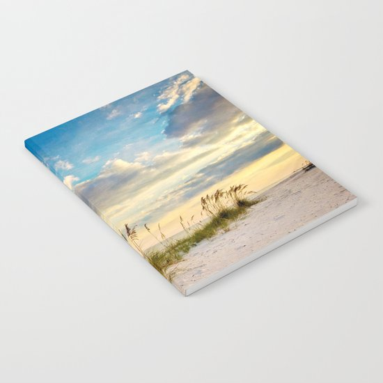 Sea Oats Beach Sunset Notebook