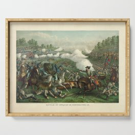 Civil War Battle of Opequan or Winchester Sept. 19th 1864 Serving Tray