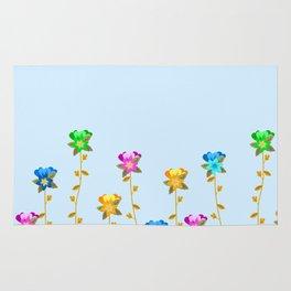Floral Columns Rug