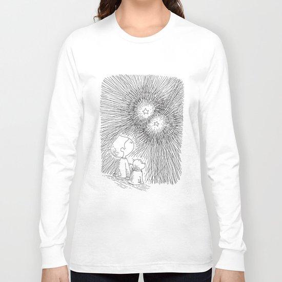 sous les étoiles Long Sleeve T-shirt