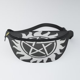 Supernatural Holiday Sweater Fanny Pack