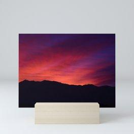 SW Mountain Sunrise - 5 Mini Art Print