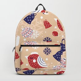 Merry pattern Backpack