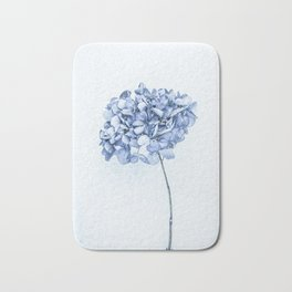 Hydrangea Blue 2 Bath Mat