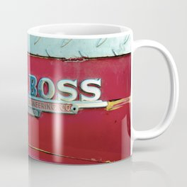 Fire Boss - Fort Worth - Fire Engine Red and Chrome Coffee Mug