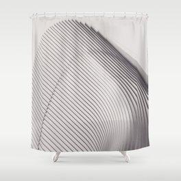 New York City, original fine photography, Manhattan, Oculus, Calatrava, World trade center, path Shower Curtain
