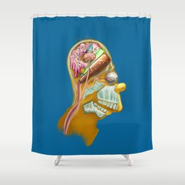 Homeric Thought Shower Curtain