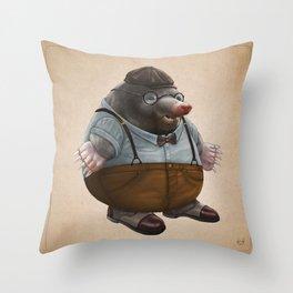 Mole Throw Pillow