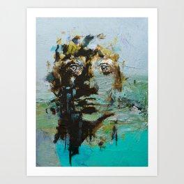 The Human Race 5 Art Print