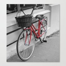 Rosy Red Riding Canvas Print