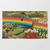 polaroid Area & Throw Rugs featuring Polaroid by Blaz Rojs
