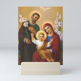 The Holy Family Mini Art Print