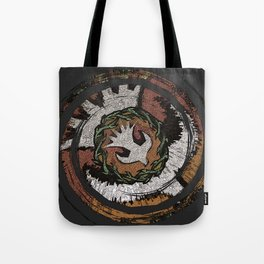 The Holy Dove & Crown Of Thorns Tote Bag