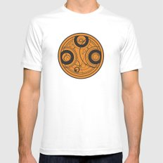 The Seal of Rassilon Mens Fitted Tee White MEDIUM