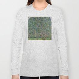 Gustav Klimt - Pear Tree Long Sleeve T-shirt