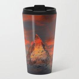Matterhorn, Switzerland Travel Mug