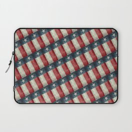Vintage Texas flag pattern Laptop Sleeve