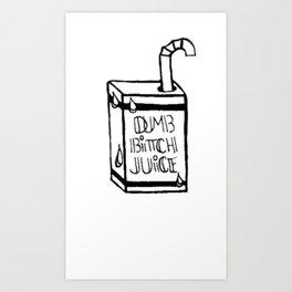 juice boxx Art Print