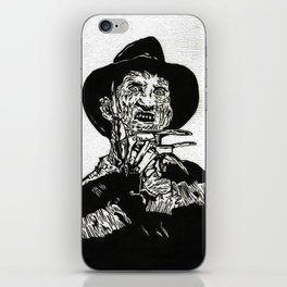 Freddy Krueger  iPhone Skin