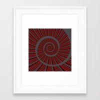 snail Framed Art Prints featuring Snail  by LoRo  Art & Pictures